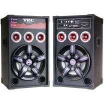 Caixa D Som Amplificada Karaoke Bluetooth 500w Usb Sd Bivolt