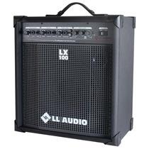 Caixa De Som Multiuso Lx 100 Amplificada - 25 Wrms (sem Usb)