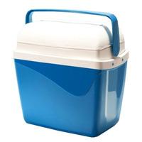 Caixa Térmica 32 Litros Azul Claro Com Alça Em Polipropileno