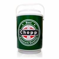 Cooler Caixa Térmica 10 Latas Alça Chopp Cerveja Heineken!