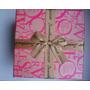 Caixa De Presente Pink E Fita Nude Sweetheart