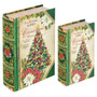 Book Box Conjunto 2 Peças Christmas Tree Oldway