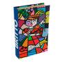 Book Box Carmem Miranda - Romero Britto - Em Mdf