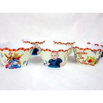 30 Forminhas / Sainhas / Wrappers Cupcake Personalizadas!