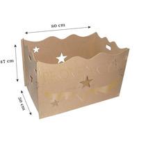 Caixa De Presentes Mdf Provençal - Com Fundo Mdf - Decoração