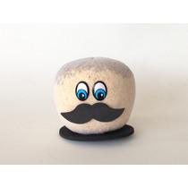 Mustache Bigode Boneco Ecológico Menino Kit Com 30 Unidades