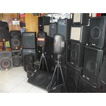 Caixas Ativa-passiv-kit-retorno-mesa-pedal-mic-tudo Em Audio