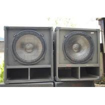Caixa Acústica Sub 15 600w (ñ Jbl,behringer,alesis,oversond)