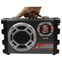 Caixa Caixa De Som Amplificada Microfone/guitarra