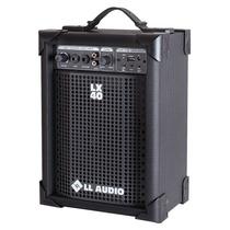 Caixa Amplificada Multiuso Ll Lx 40 Usb - 10 Watts