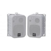Caixa Som Ambiente Donner Sp400 Branca 60w Par