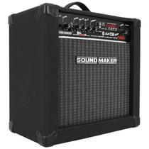 Caixa Amplificada Para Violão Sound Maker Cube A30 Som Frete
