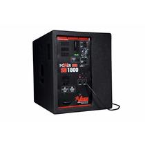 Caixa Subgrave Ativa Leacs Power Sub1800 18 1500w4ohms 18295