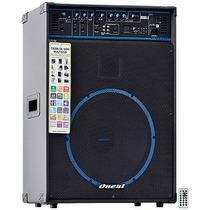 Caixa De Som Amplificada Oneal Ocm1030 Usb Sd Fm 150w Rms