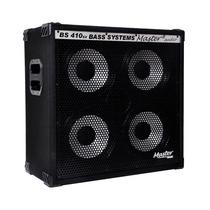 Frete Grátis - Master Audio Bs-410 Ex Caixa Acust Baixo 200w