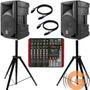 Caixas Jbl Spm1203 Neo + Mesa Novik Nvk 800p - Goiás Musical