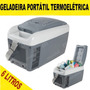 Mini Geladeira Automotiva 6l 12v Blackdecker Resfria Aquece