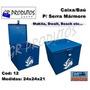 Baú/caixa Chapa P/serra Mármore 12 Fercar Makita Bosch Dwalt