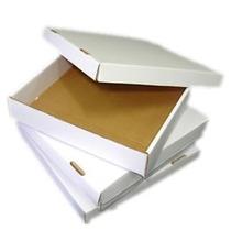 Caixa De Papelão Branca Para Doces Ou Salgados 30x30x7 N° 2