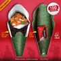 Embalagem Temaki / Pizza Eu Amo Kone, 100 Un - Frete Grátis!