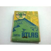 Caixa De Fósforo Tabacow Tapetes Atlas / Cruzeiro - Lt0239