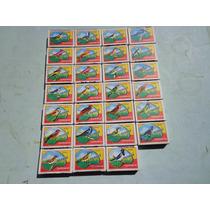 Caixas Fósforos Paraná Série Pássaros Década 60 (sem Uso)