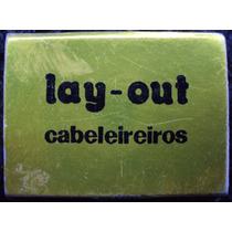 Caixa Fósforo Antiga - Lay-out Cabelereiros - Sp - Cheia- As