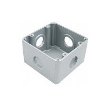 Caixa De Piso Aluminio Alta 4x4 3/4 Tramontina