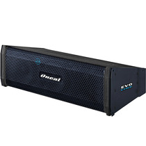 Caixa Linearray Ativa Amplificada 300w Rms Oneal Ola 206 Pt