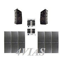 Line Array C/ Sub 2x12+ti Snake + Machine- 43800 Rms - 4vias