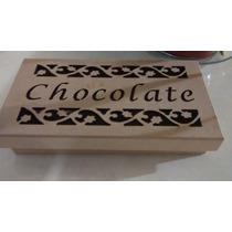 Caixinha De Chocolates Ou Trufas - Linda Opção De Presente!