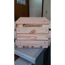 2 Caixotes De Feira - Decorativo - Caixa De Madeira 18mm