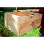 Caixote De Feira (madeira Reto Parafusado)