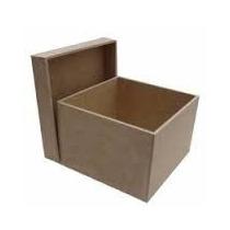Caixas De Madeira Mdf Pequena Crua 6x6 Kit Com 10