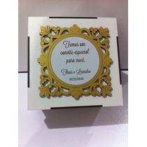 Caixa Convite De Casamento Padrinhos