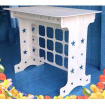 Mesa Estrela Pintado Provençal Mdf Festa Infantil Decoração