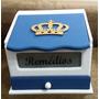 Caixa De Remédios (farmacinha) Decorada Com Coroa