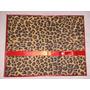 Caixa Cofre Em Mdf Decorada Com Tecido Animal Print, (onça).