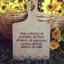 Porta Chaves Artesanato - Lembrança Dia Das Mães