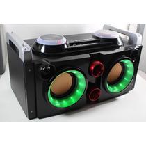 Caixa De Som Tipo Dj Amplificada 700w Karaoke Usb Fm 2.0 Led