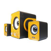 Caixa De Som Subwoofer 2.1 P2 Pc Notebook Celular 5 Cores