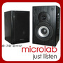 Par De Monitores Ativos Microlab B-72 C/ 24watts Rms Bivolt