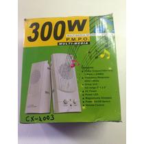 Caixa De Som Para Pc Cx-1003
