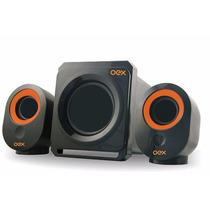 Caixa De Som Amplificadora Oex Entrada Usb 1 Ano De Garantia