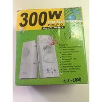 Caixa De Som Para Pc 3watts Cx-1000