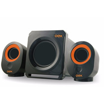 Caixa De Som Speakers Booster Sk-500 Oex 30w Usb P2 Potente
