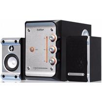 Caixa De Som Ambiente Edifier 2.1 Com Subwoofer Pra Tv & Pc
