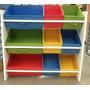 Decoração Estante Organizador Infantil-caixas P/ Brinquedos