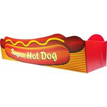 Caixa / Caixinha / Embalagem Para Hot Dog - 1.000 Unidades