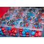 Lembrancinhas Caixinhas Acrílicas Homem Aranha 25 Unidades